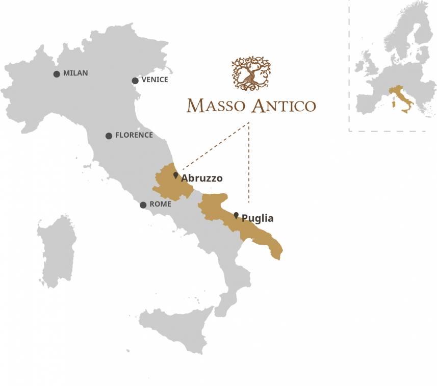 Masso Antico map 2019